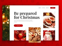 Restaurant Webdesign for Christmas