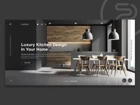 Stylish Kitchen Website design