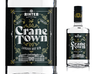 Rihter Distilery's CRANE TOWN Gin