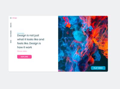 Digital Agency   Hero/Heading Concept