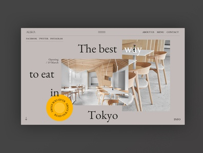 Restaurant - Home Page Exploration