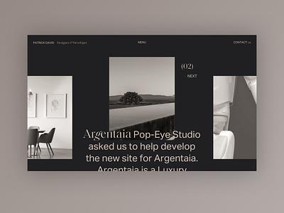 My new Portfolio - Mood Exploration home portfolio design portfolio typography design web design clean minimal website web ui