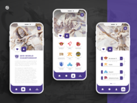EsportsPoint ticket app - Tournament page
