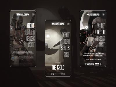 Star Wars : The Mandalorian mobile concept design