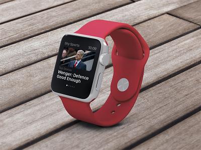 Sky Sports for Apple Watch ios apple watch news sports
