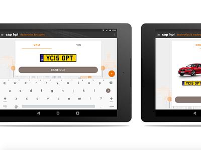 Car Appraisal App android app vehicle tablet car automotive appraisal app android