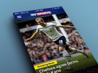 Sky Sports for iOS iphone sports app ios