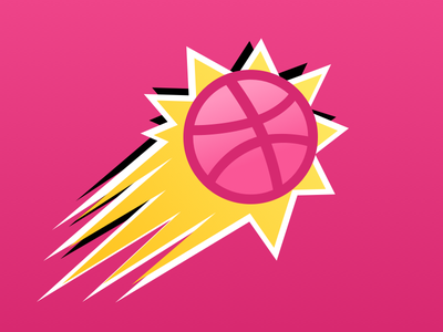 Dribbble Sticker Mule Playoff! competition basketball sticker pack sticker mule playoff giveaway free stickers dribbble