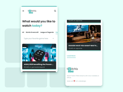 Twitchls redesign minimal design website web icon branding ui ux twitch