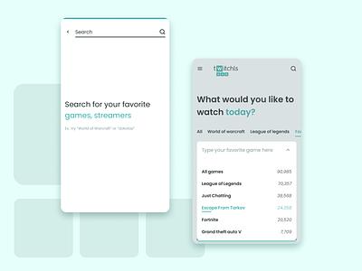 Twitchls redesign web app minimal design branding ux ui