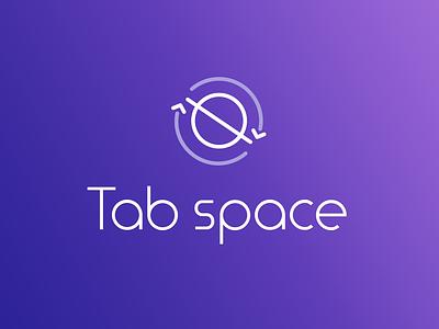 Tab Space icon minimal illustration flat dayli vector typography logocore logo design challenge