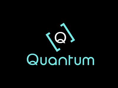 Quantum icon minimal illustration flat dayli vector typography logocore logo design challenge