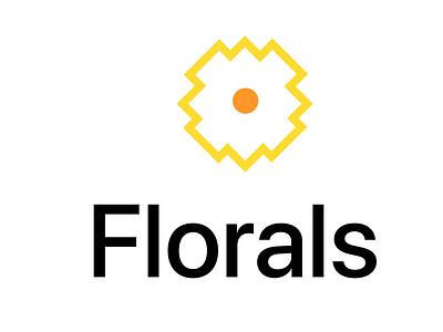 Florals florals icon minimal illustration flat dayli vector typography logocore logo design challenge