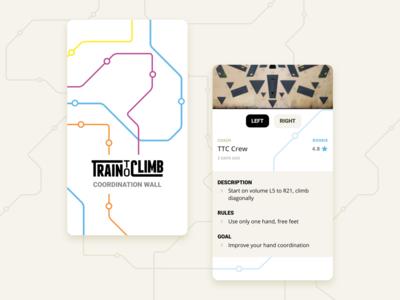 Train To Climb App