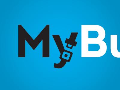 My Buckle logotype seatbelt cyan product