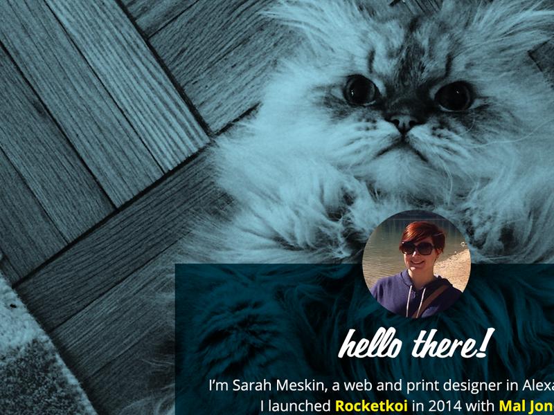 Placeholder website concept cat website placeholder