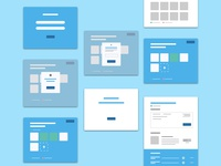 Wireframes for Web App