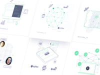Homepage Illustration Set