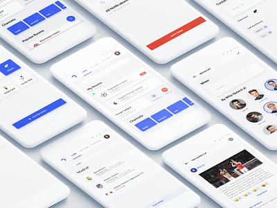 Bola Chat soccer community chat social react app football