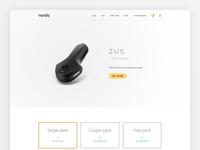Nonda ZUS Product Page