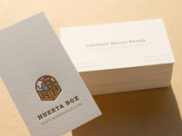 Huerta Box • Business cards