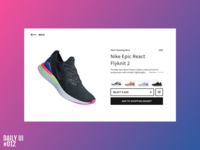 Product details (E-commerce) - Daily UI #012
