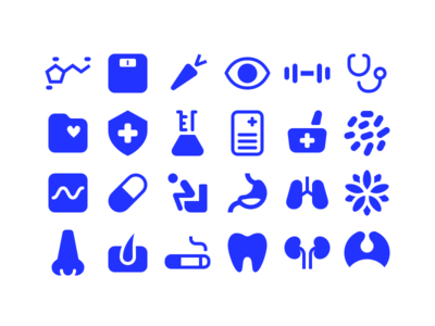 MyDoc Health Icons