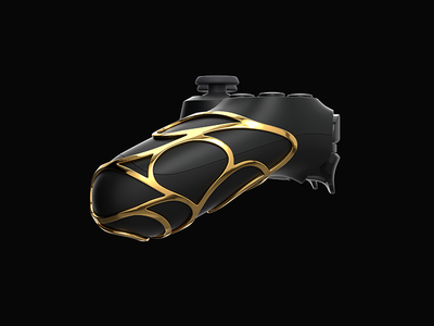 Brass Grip for Dualshock 4