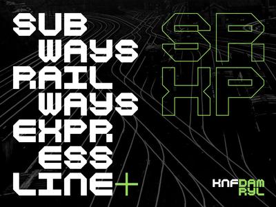 Typeface design / WIP / KNF DAMRYL