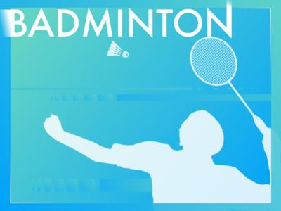 Badminton typography sport poster olympic malaysia legend leechongwei lcw layout eddy badminton athlete
