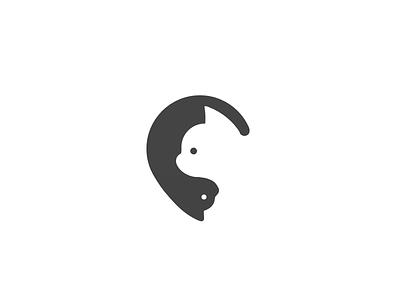 Cat&Cat symbol space negative mark logotype logo illustration identity dog design cat