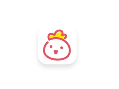 Cute logo mark symbol web fun bag cute icon logo ux ui