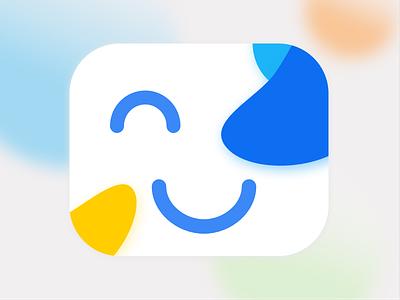 Make a smile e-mail happy icon logo smile