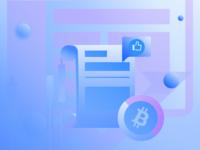 Blue Bitcoin