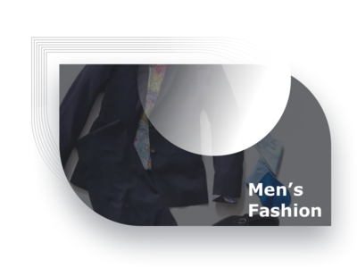 Men's Fashion shop tailor customer white clothes suit man fashion banner