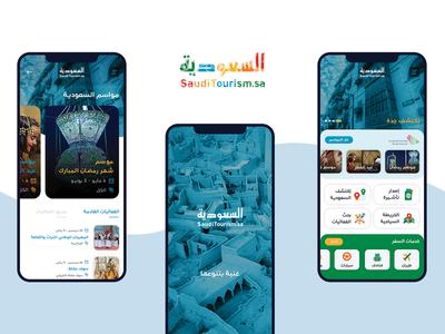 Saudi Tourism App Design