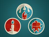 Firestarter Badges