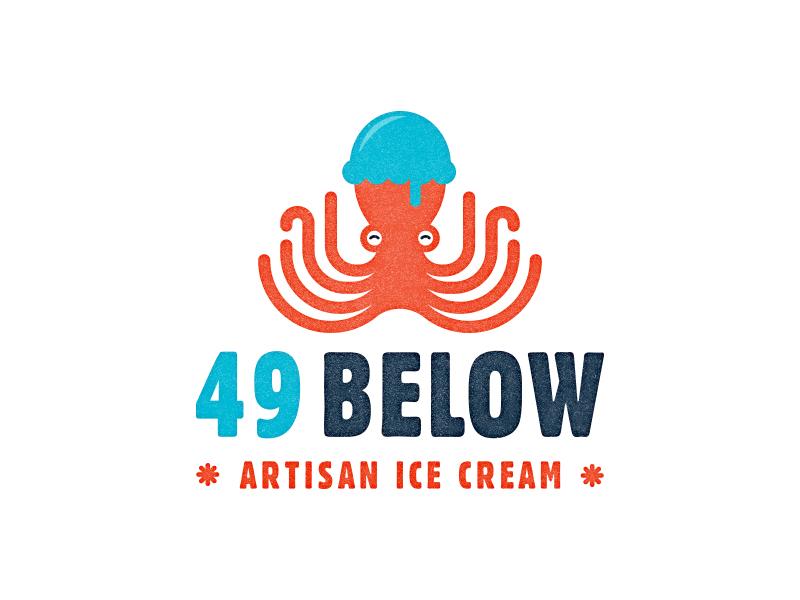 49 Below ice cream octopus