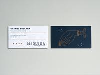 Maquina Biz Cards