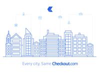 Checkout.com illustration