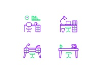 Workspace Icon Set