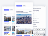 Krugo. Mobile app for ideal travel booking.