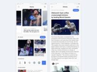 Sport News Mobile App