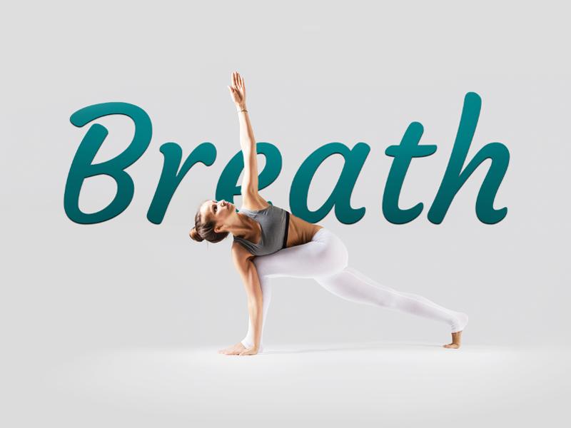 Breath Yoga Studio sport fitness yoga web ui