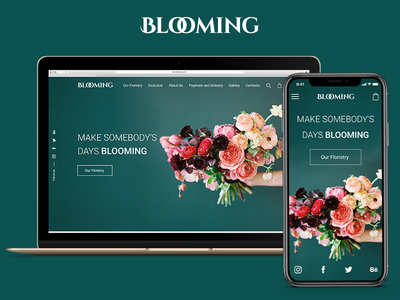 Blooming Web Site