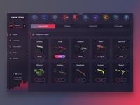 Case Drop - website redesign