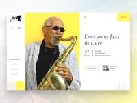 Leopolis Jazz Fest - website concept