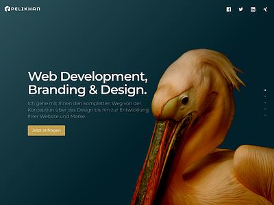 Pelikhan – Web Development, Branding & Design responsive gradient slides php js css html web development web design landing page website