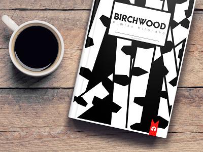 BIRCHWOOD book cover cover book madeinaffinity design graphic design vector affinity designer illustration
