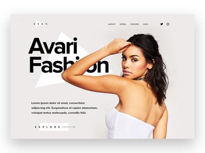 Even Portfolio portfolio white creative web design ux ui minimal
